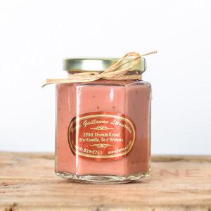 Beurre de fraises et de pommes - Ferme Guillaume Létourneau