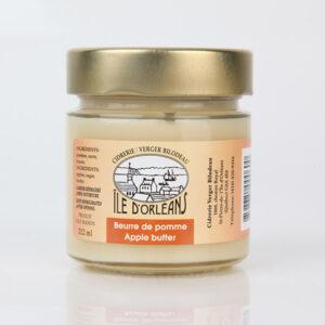 Beurre de pomme - Cidrerie Verger Bilodeau