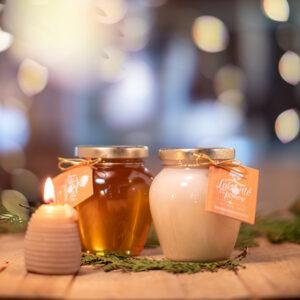 Duo de miel fermier - Labonté de la pomme - Verger - Miellerie - Cabane à Pommes
