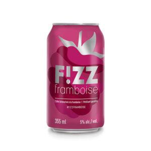Fizz Framboise - Vignoble et Cidrerie Coteau Rougemont