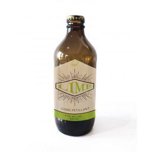 Cidre pétillant à la lime - Vergers Frier – Cidrerie Rockburn